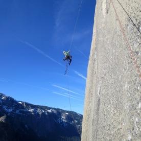 12. Hanging off El Cap