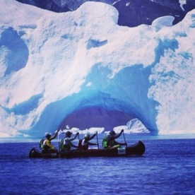 13. Kayaking in Greenland