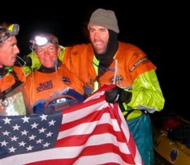15. Jeff and the team at the finish line of Primal Quest