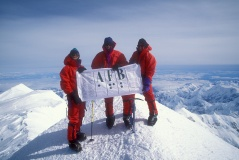 8. Jeff, Erik and Sam on summit of Denali