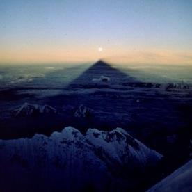 19. Everest casts a long shadow.